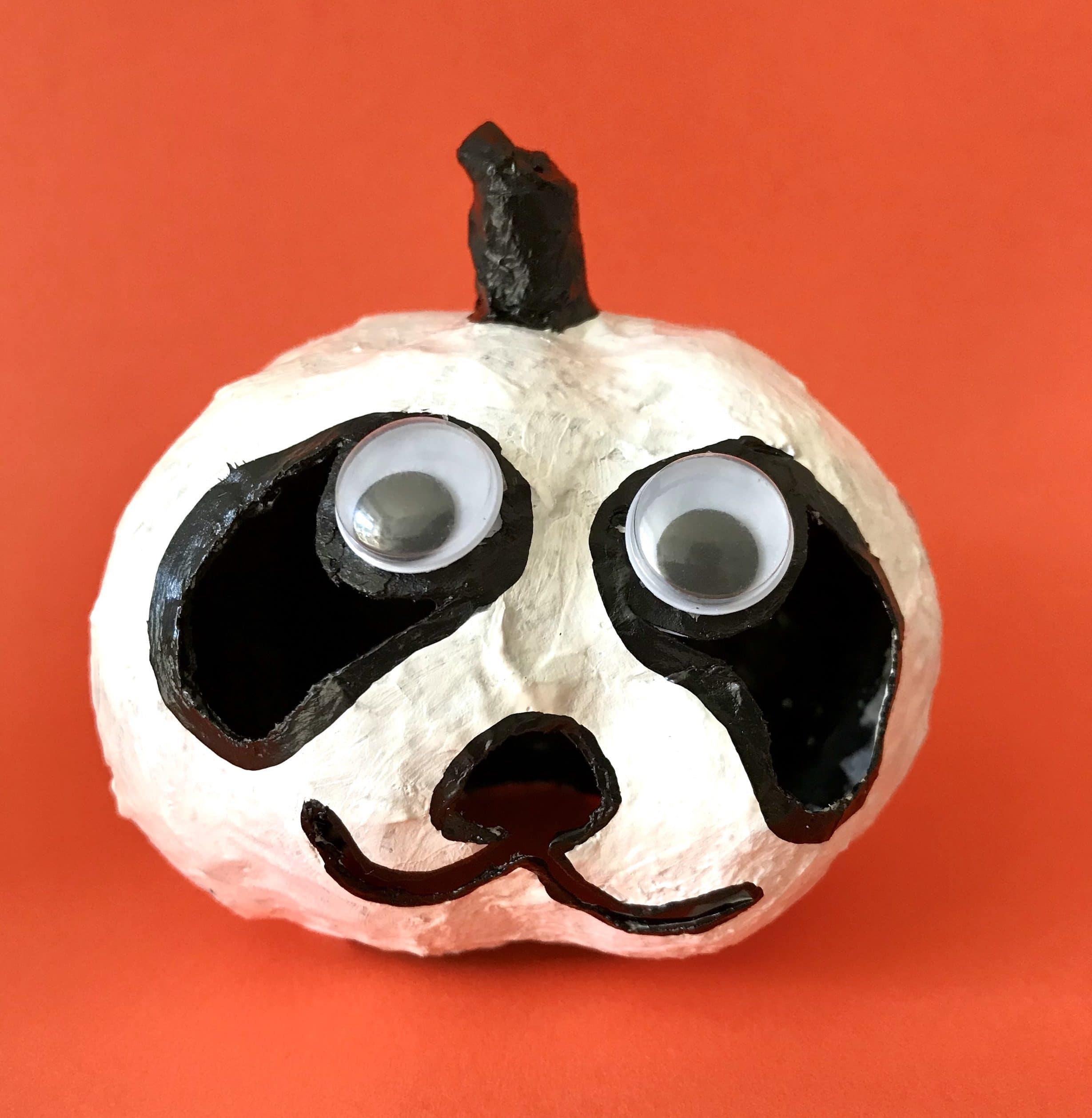 DIY Halloween Kürbisse basteln