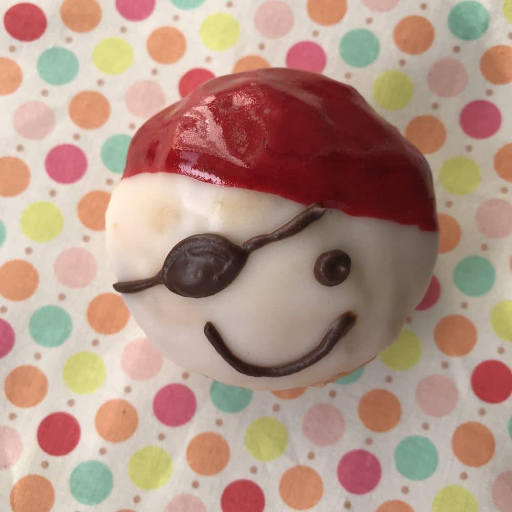 Lustige Muffins, Piratenparty, Muffins für Kindergeburtstag