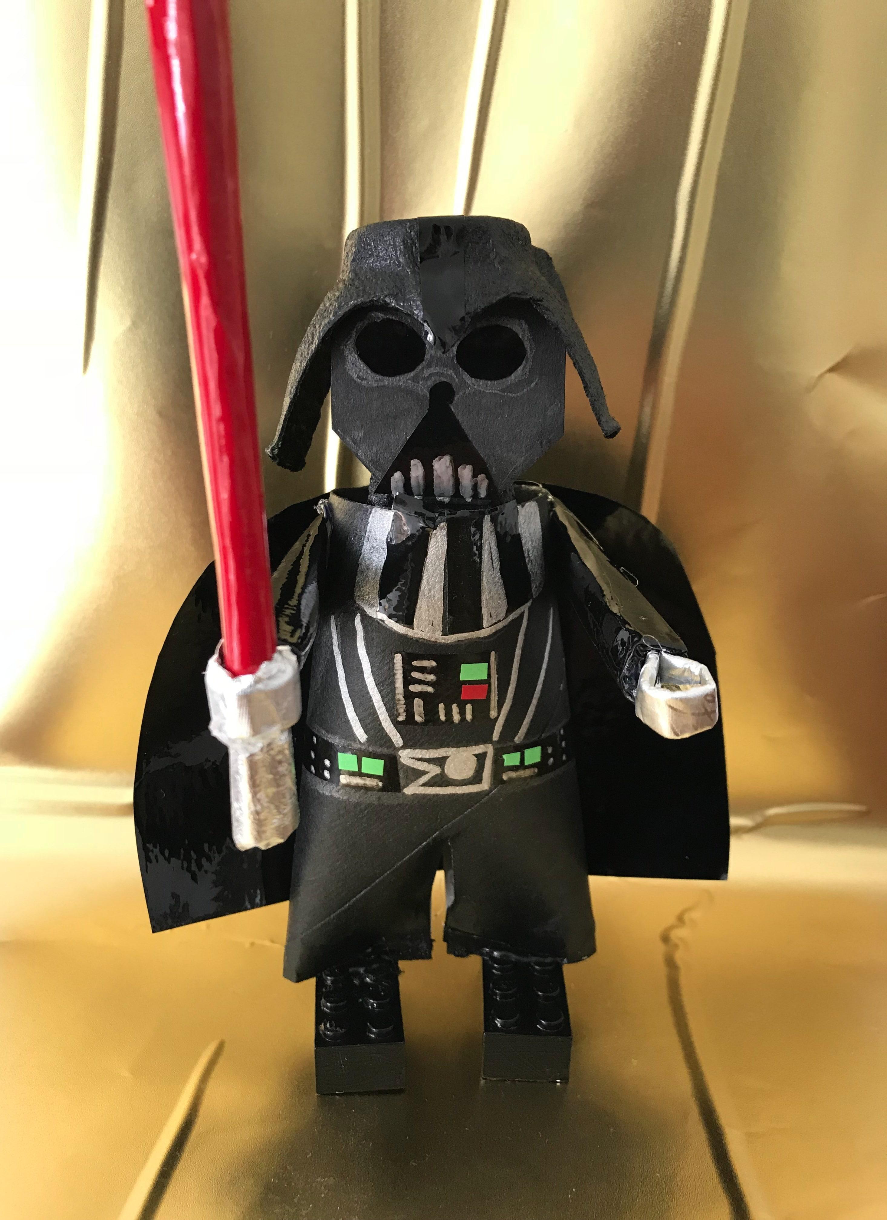 Diy Star Wars Darth Vader Aus Klorollen Basteln