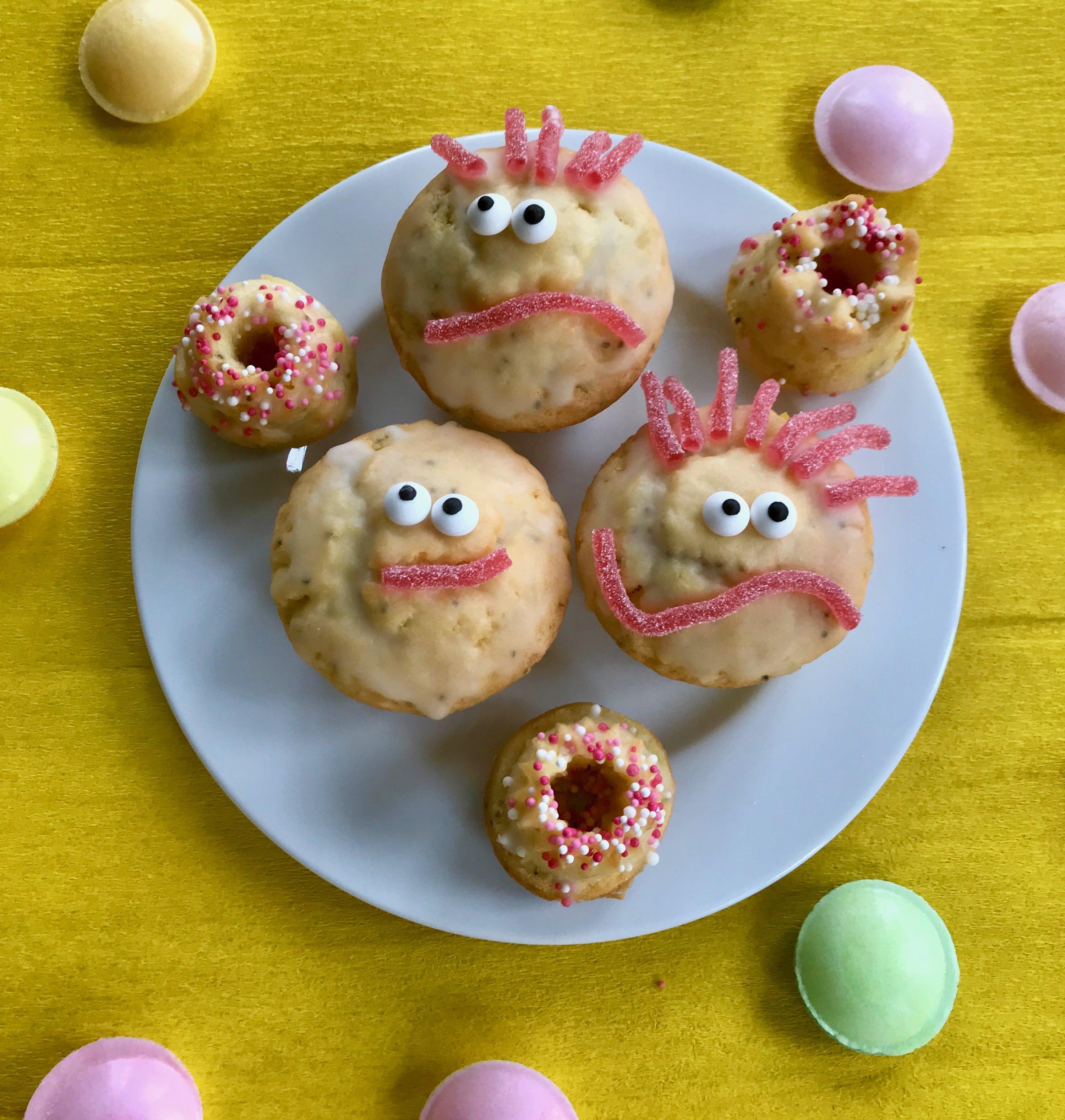 Kindergeburtstag, Zitronemuffins, Rezept, Kindersnack, Idee für Essen
