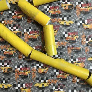 Murmelbahn aus Klorollen selber machen - Upcyclingidee für Kinderspielzeug