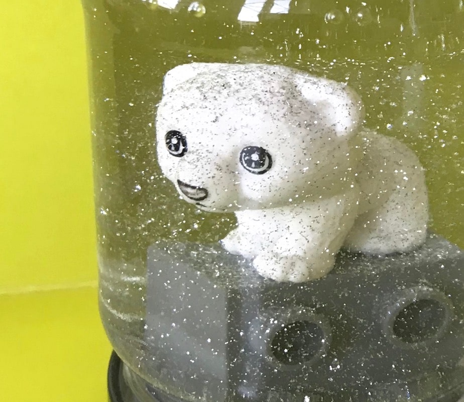 DIY Schneekugel basteln, Kinderbasteln, Upcycling