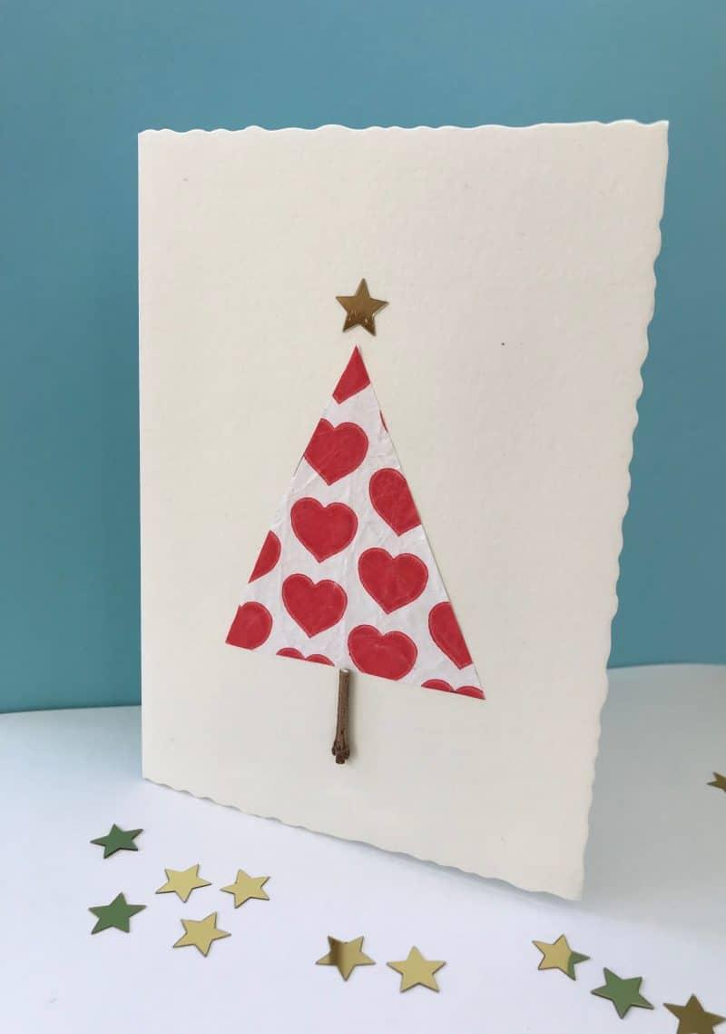 Weihnachtskarte selber machen