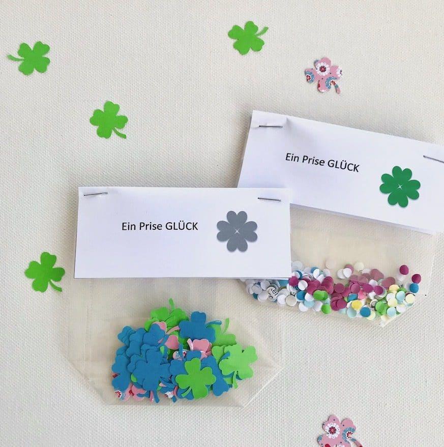 konfetti aus papierresten selber machen. Black Bedroom Furniture Sets. Home Design Ideas