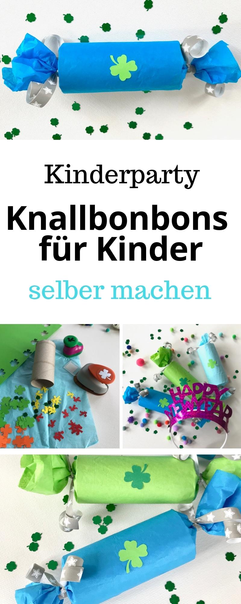 knallbonbons f r kinder mit berraschung und spielidee. Black Bedroom Furniture Sets. Home Design Ideas