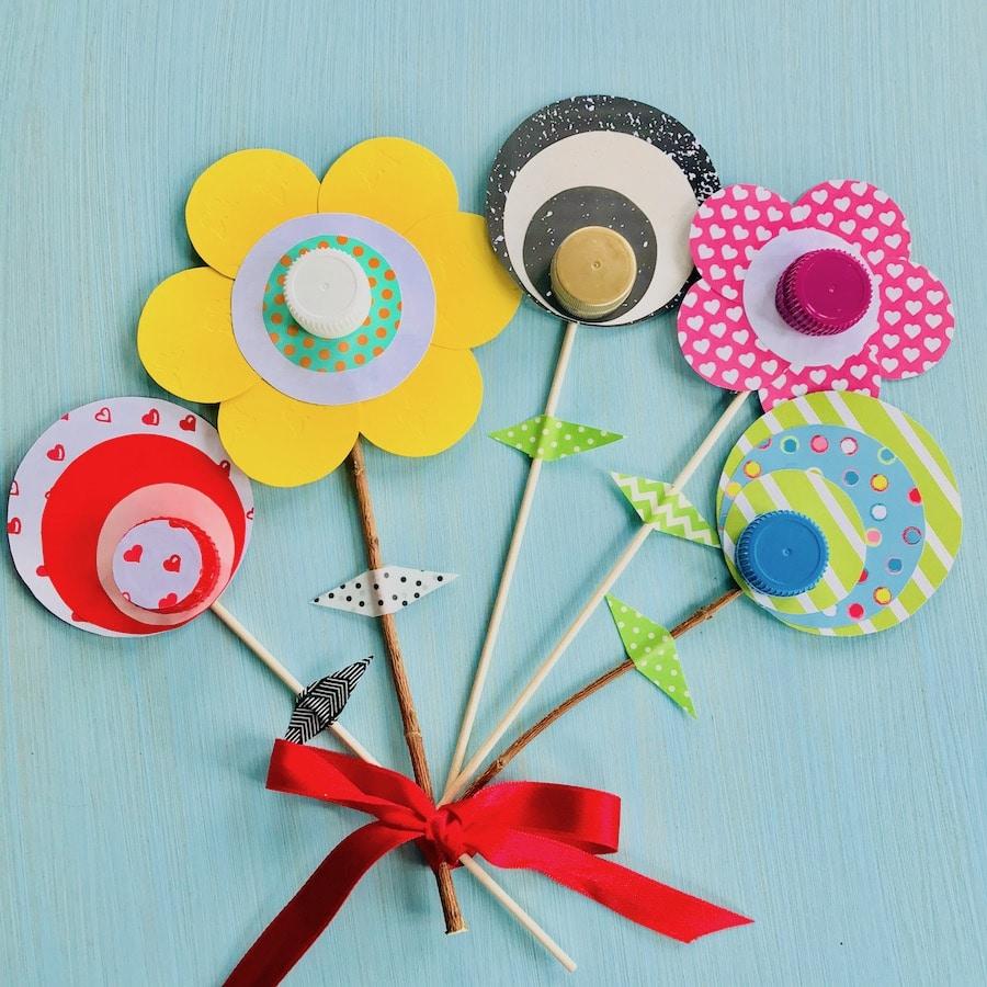 geschenk mit kindern basteln, muttertagsgeschenk basteln mit kindern, Valentinstag Geschenk basteln, Upcycling