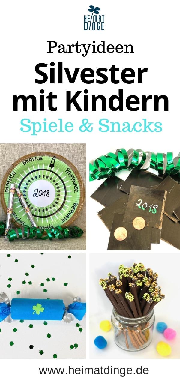 DIY Silvesterparty mit Kindern, Spielidee, Partysnack