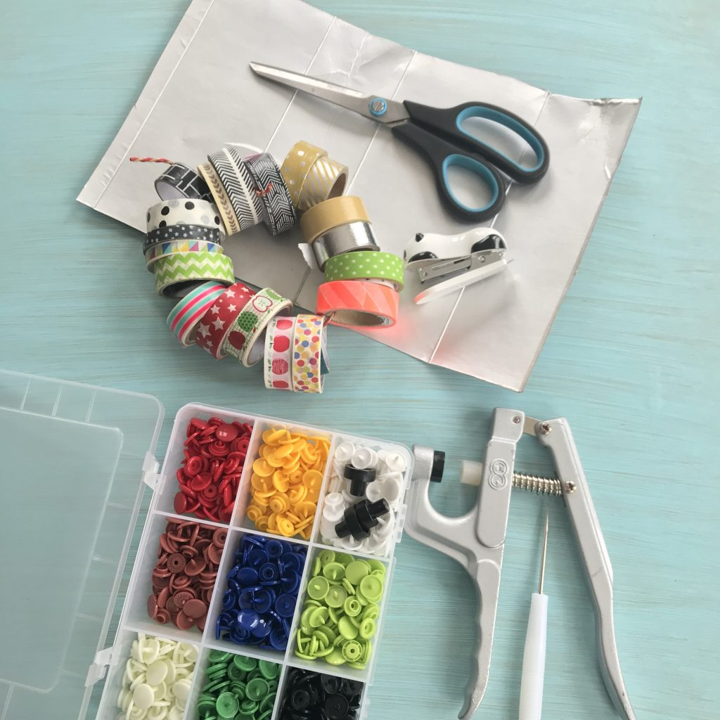DIY Handtasche selber machen, Material
