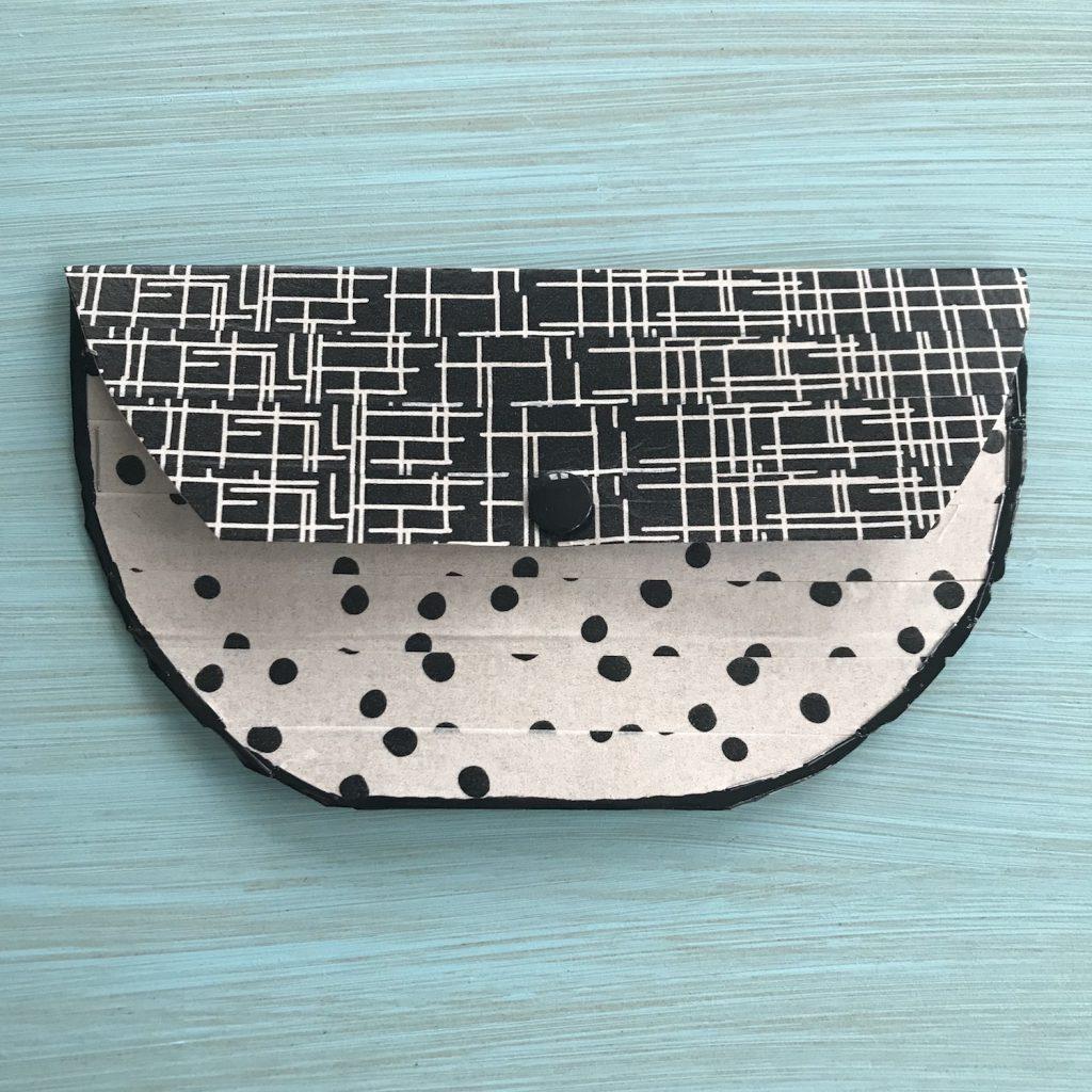 DIY Handtasche selber machen, rund