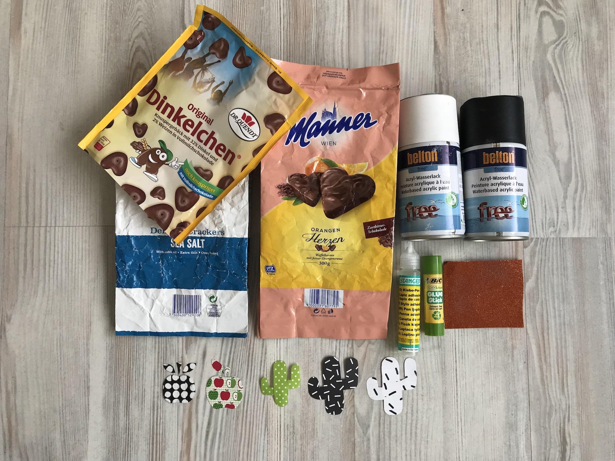 DIY Blumentopf zum Muttertag, Material