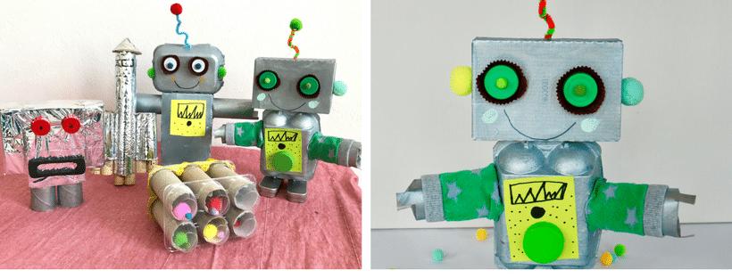 DIY Trash Roboter basteln