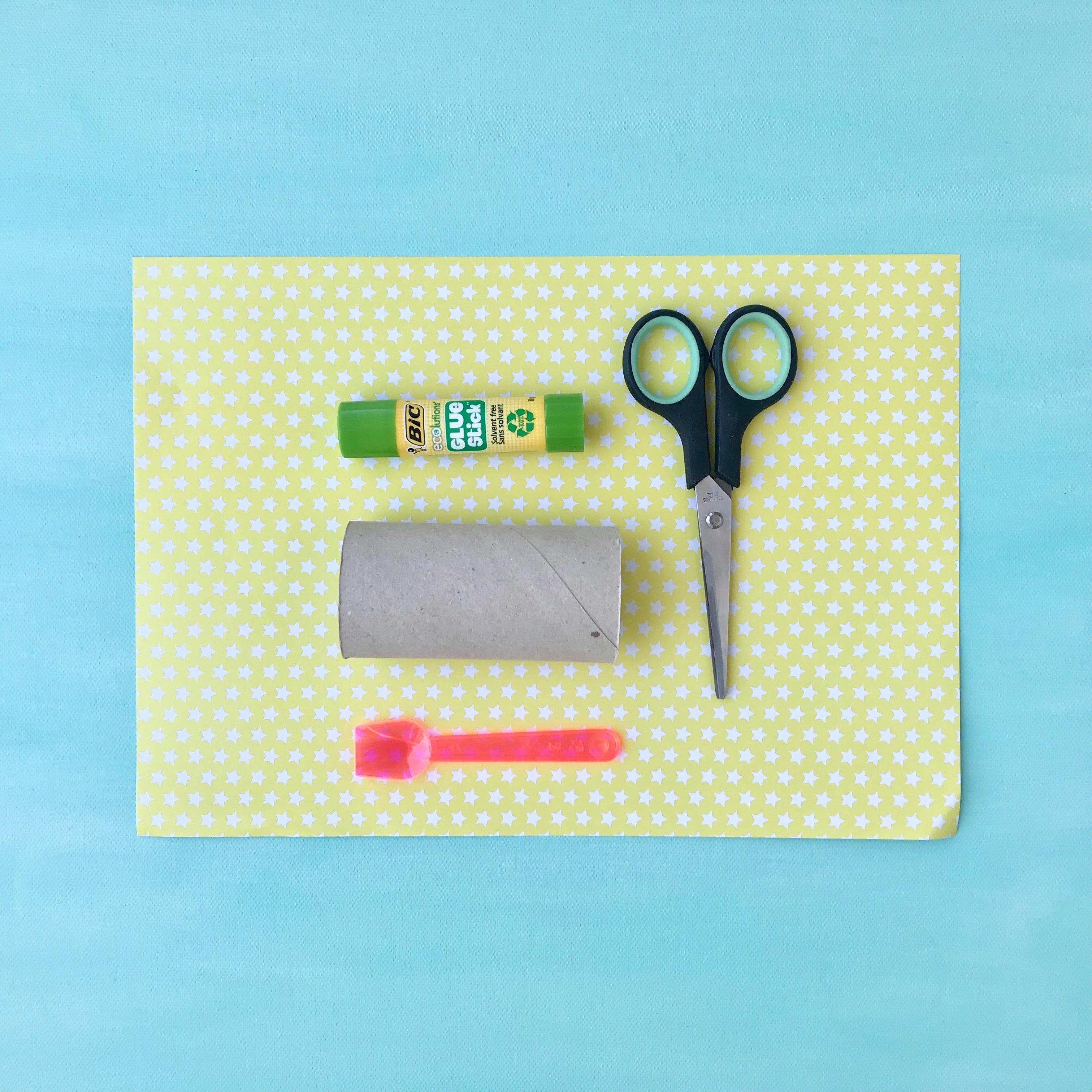 DIY Einladungskarte für Kindergeburtstag selber machen, Material