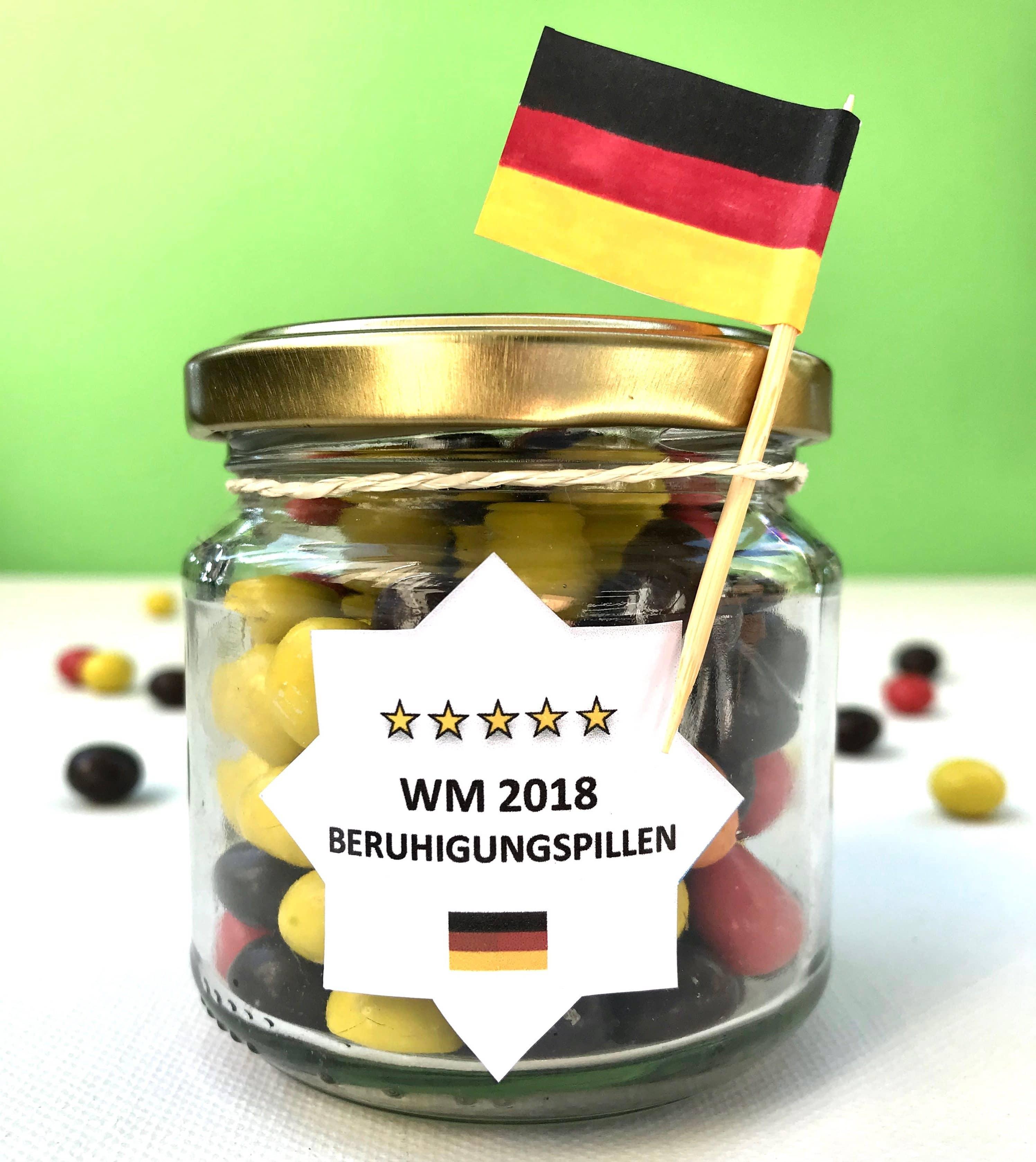 Fußball WM DIY Geschenk
