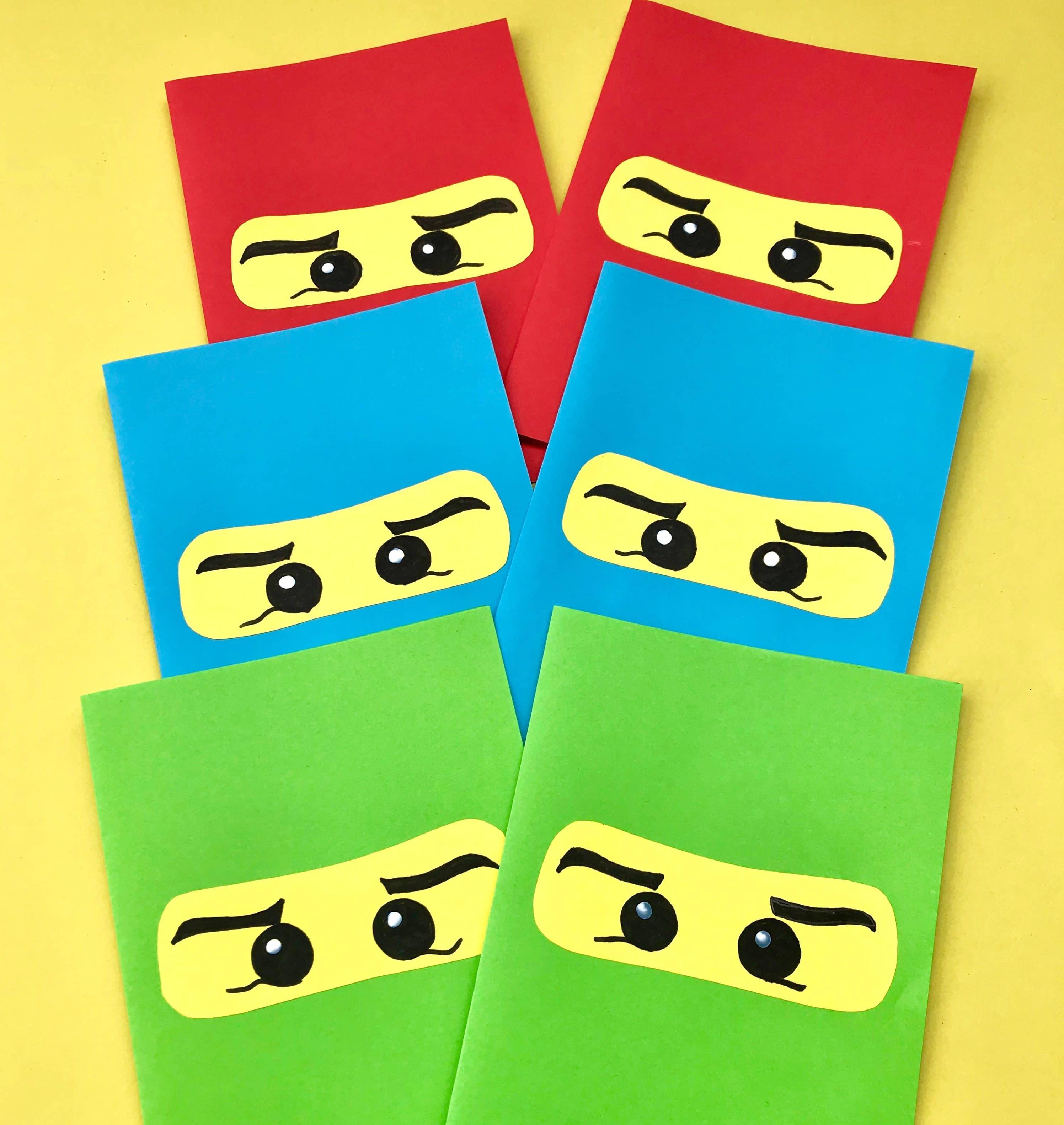 Extrem Ninjago Kindergeburtstag: Coole Ideen für eine gelungene Party - XU65