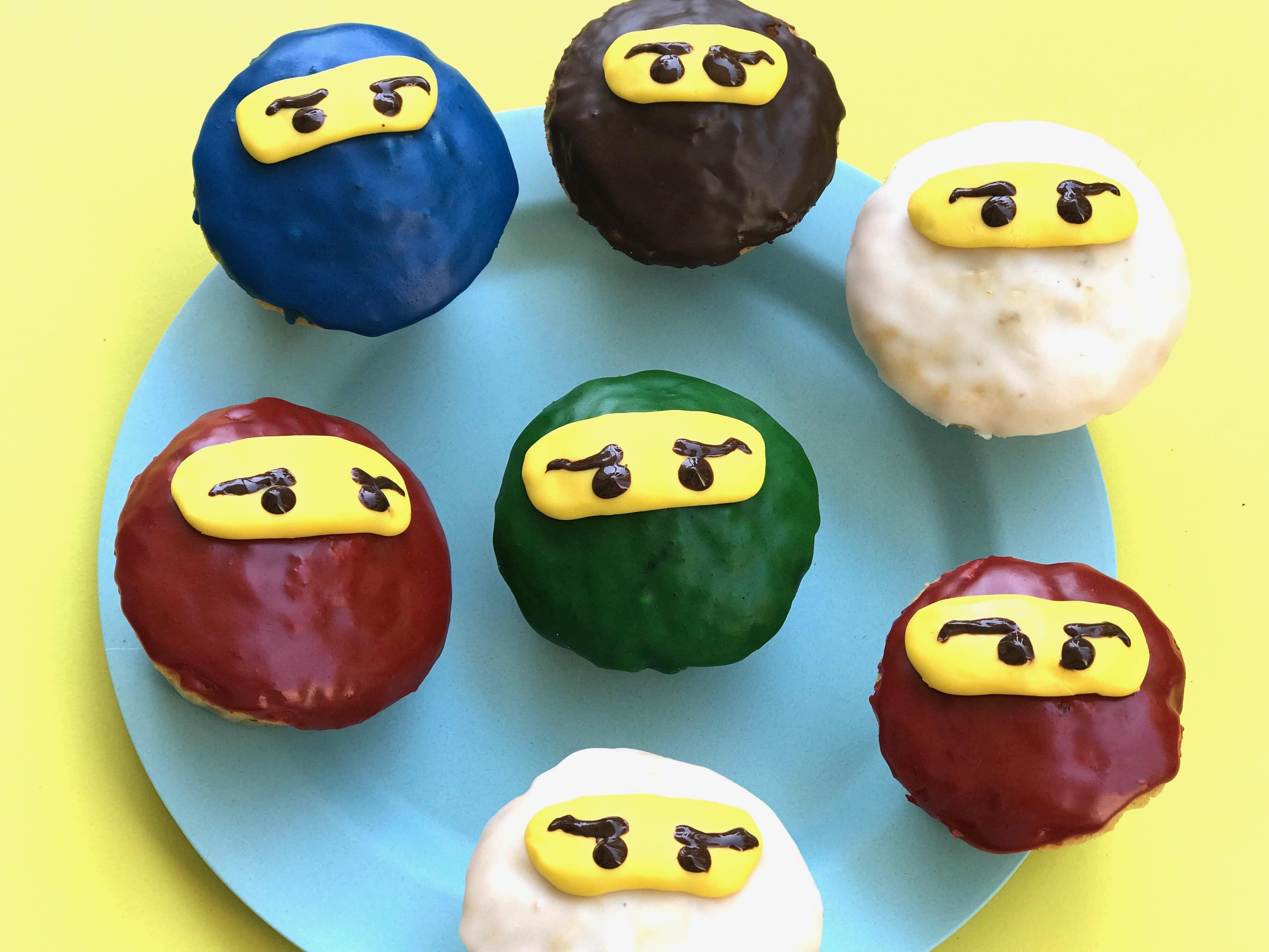 Ninjag Geburtstag, Zitronen-Muffins, Rezept