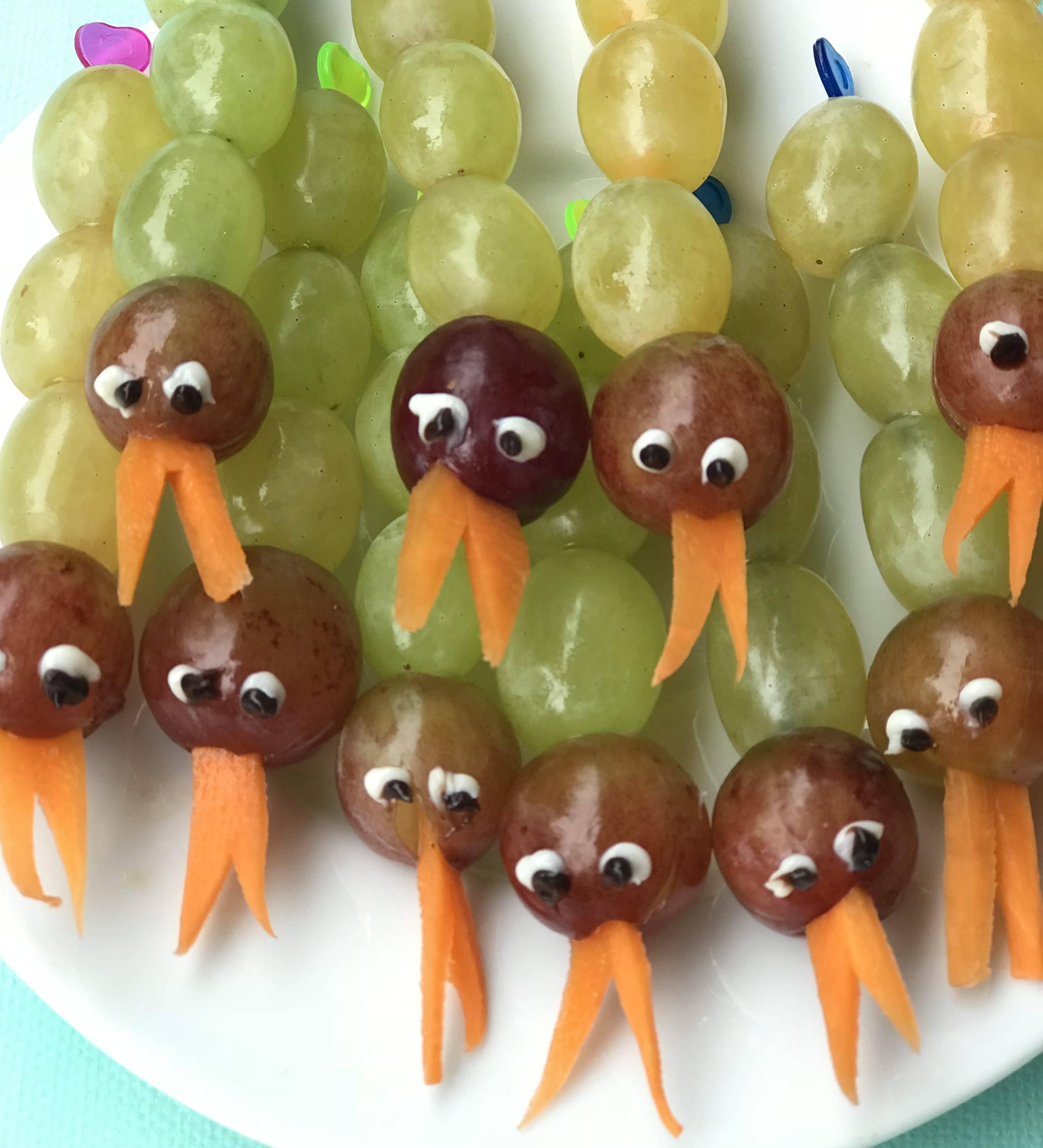 Ninjago Geburtstag, Obst-Schlange