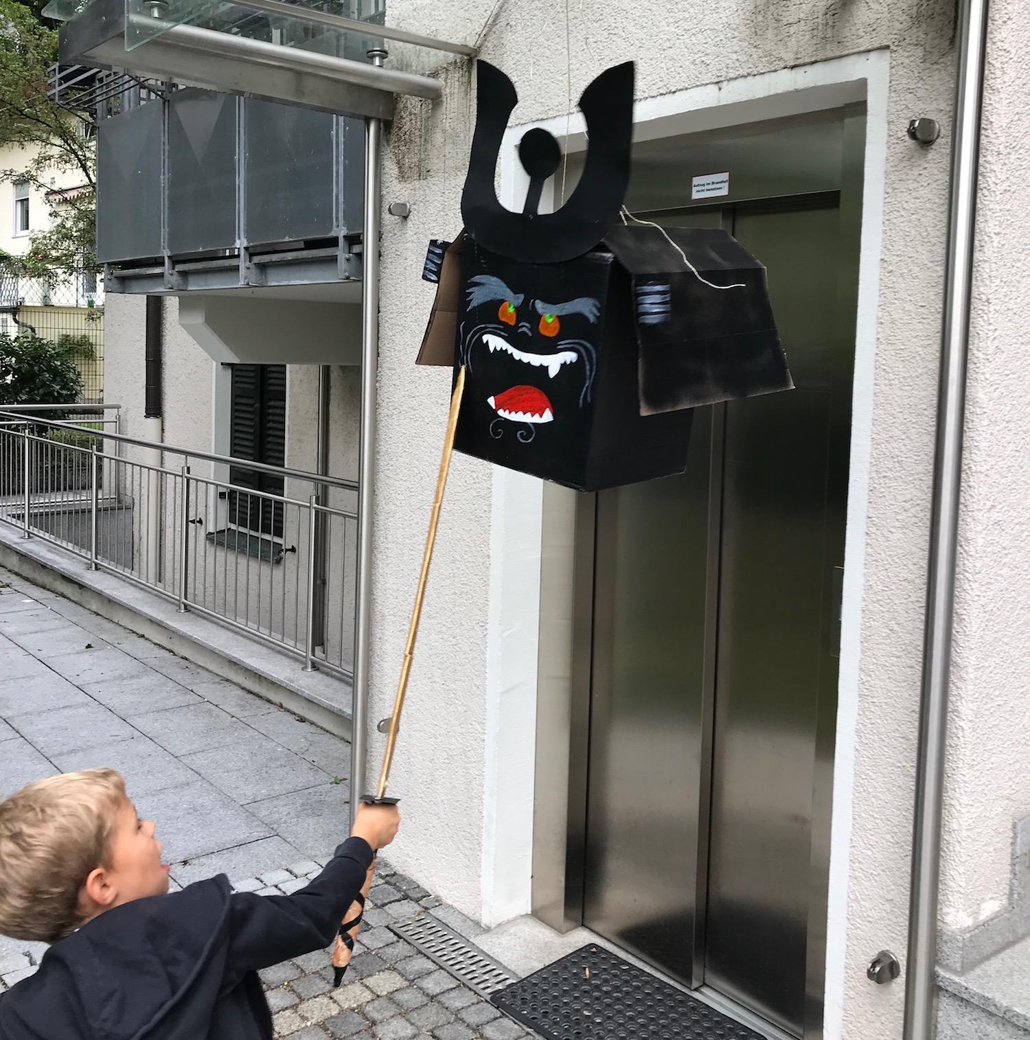 Ninjago Geburtstag Pinata, Upcycling für Kinder