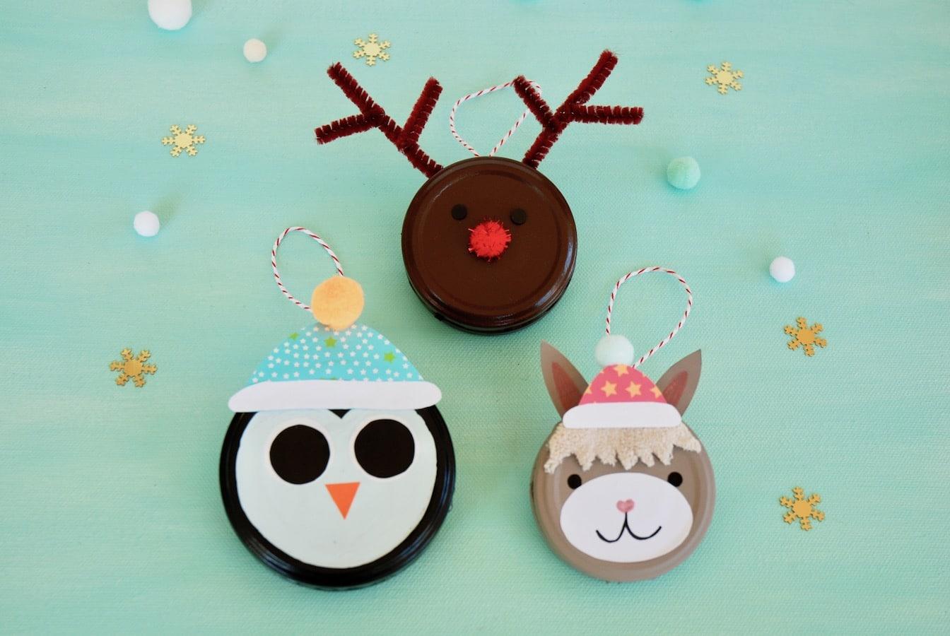 DIY. Weihnachtsanhaenger, Weihnachtsschmuck, Cuchikind Adventskalender 2018
