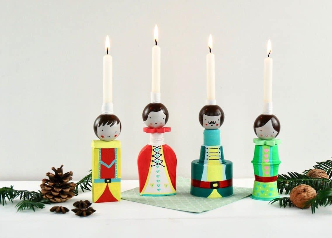 DIY Familien Adventskalender, Upcycling, Kinder, Weihnachten
