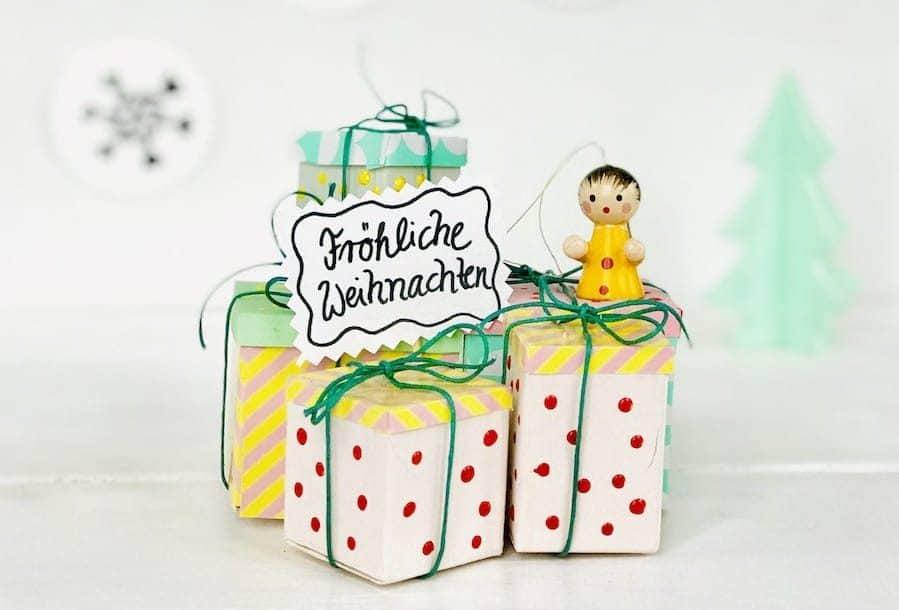 Weihnachtsdeko selber machen Anleitung, Upcycling Weihnachten