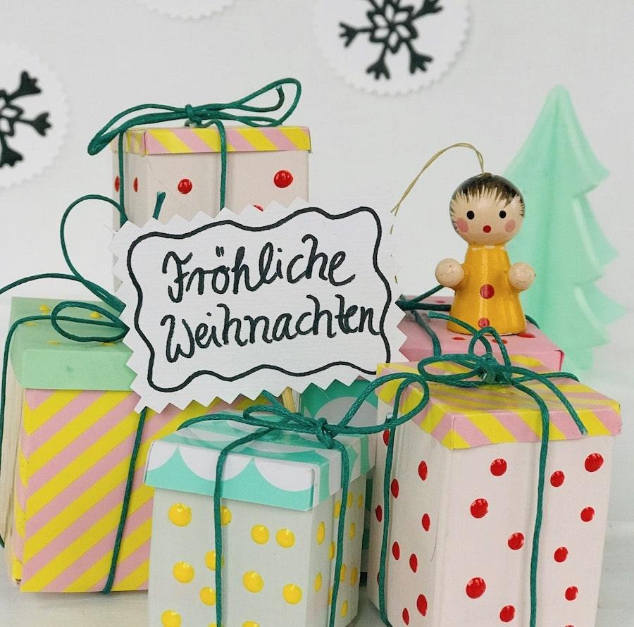 DIY Christbaumschmuck Suessigkeiten, selbermachen, Upcycling