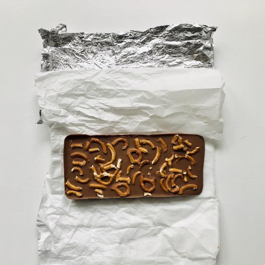 Schokoladen-Wettessen, Spiele Kindergeburtstag, Upcycling Verpackung