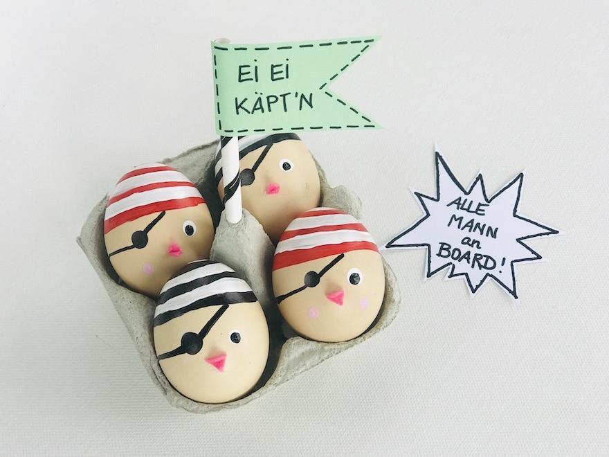 partydeko-kindergeburtstag-piraten-geburtstag-eier-bemalen-originell-diy
