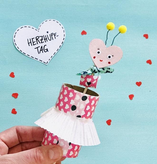 Muttertagsgeschenk mit Kindern basteln, Muttertagskarte DIY, Upcycling