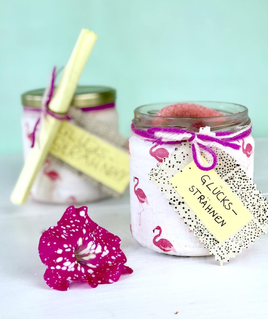 Geschenke Für Lehrer Basteln Diy Geschenk Im Glas