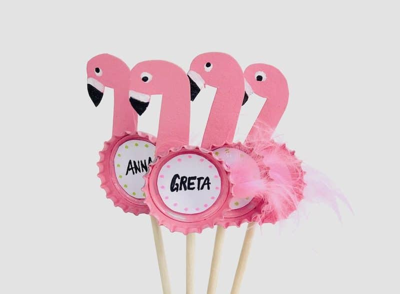 flamingo party picker basteln