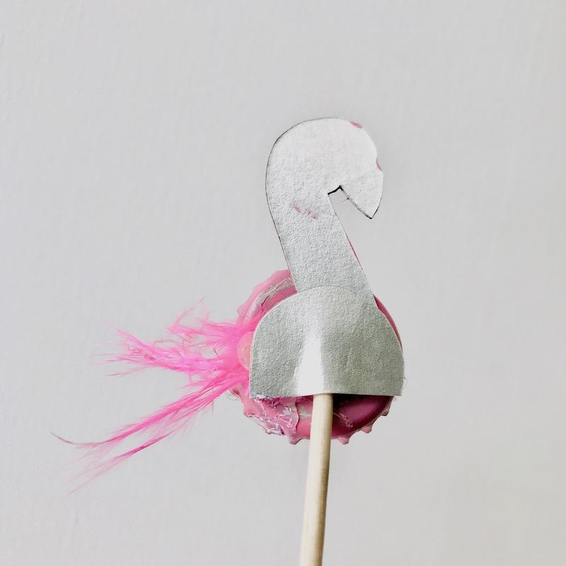 Flamingo basteln, wiederverwendbare Party Deko, umweltbewusst feiern