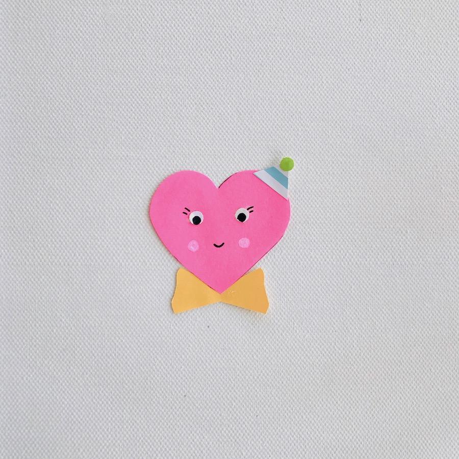 Herz aus Papier basteln